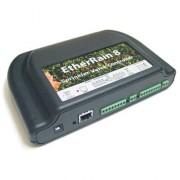 EtherRain Controlo IP para rega - 8 zonas/electroválvulas