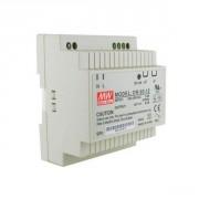 Rail DIN 12V  4.5A 60 W Power supply  Mean Well